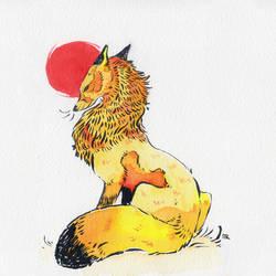 Red moon fox