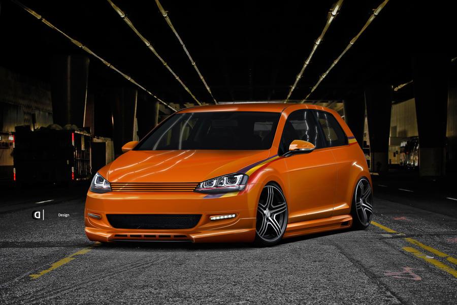 Volkswagen Golf 7ven by Cipprik