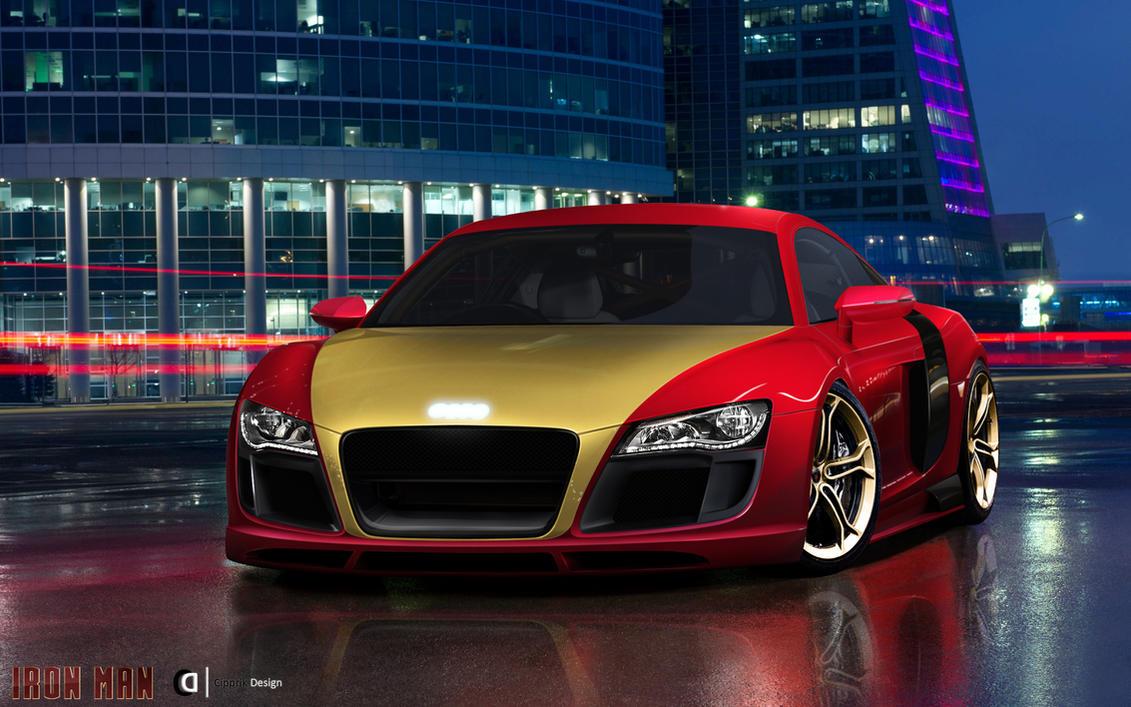 Audi R8 IronCar Cipprik Design by Cipprik