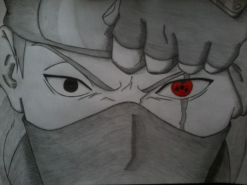 kakashi drawing by dreamtrollxd