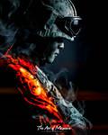 Portrait: SAF Soldier (Battlefield 3 Edition)