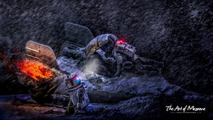 Hoth A-Wing Crash Rescue