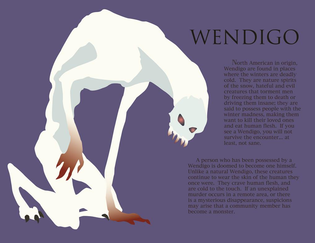 Wendigo by frig... Wendigo Sightings 2017