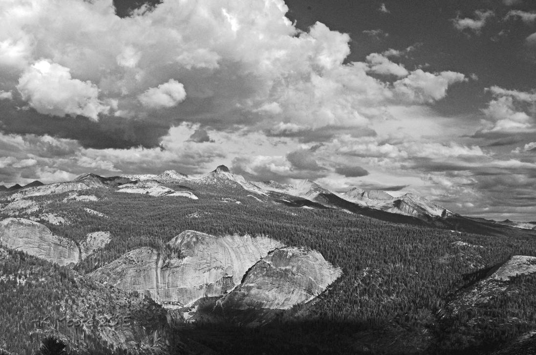 Storm Brewing Over Yosemite by mistakeablyme