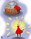 Hornet Sketch Comic but Digital