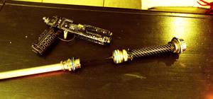 Cyberpunk sword cane