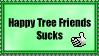 Happy Tree Friends Sucks Stamp by vanillachunder