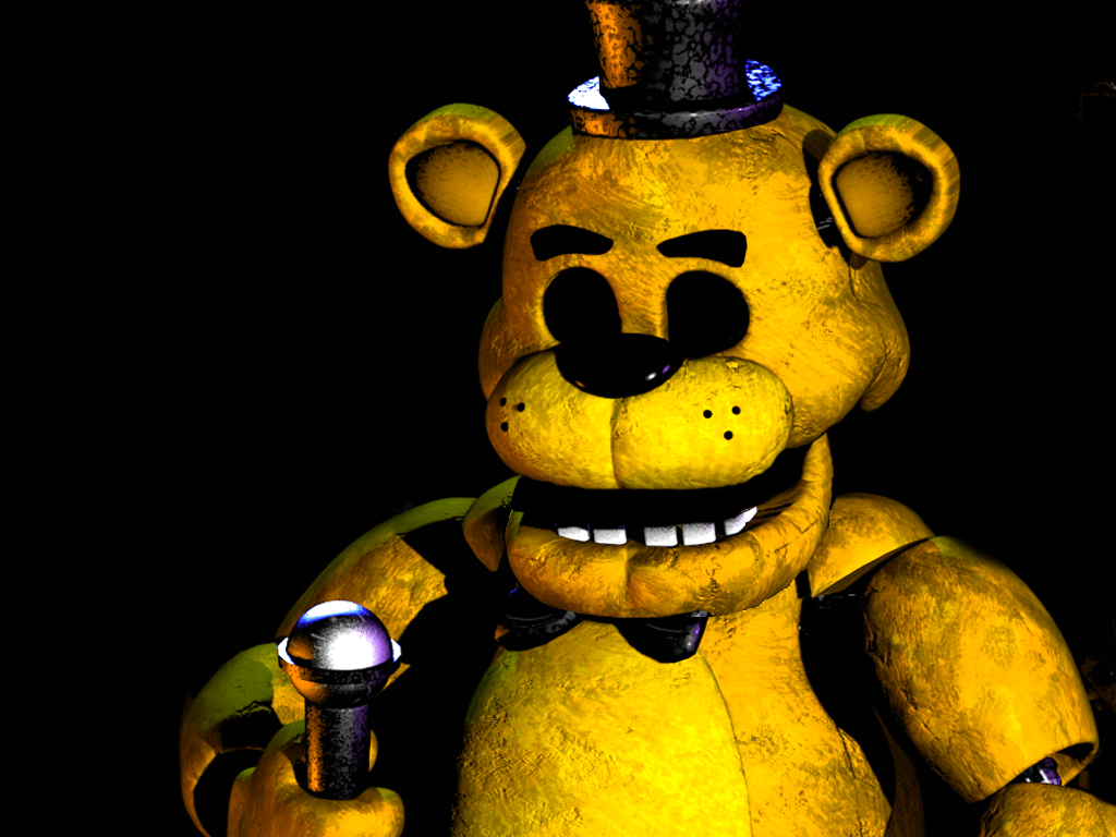 FNAF Golden Freddy - Fanmade by FreddyFredbear on DeviantArt