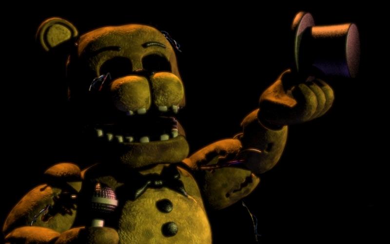 Fnaf 2 - Golden Freddy by FreddyFredbear on DeviantArt