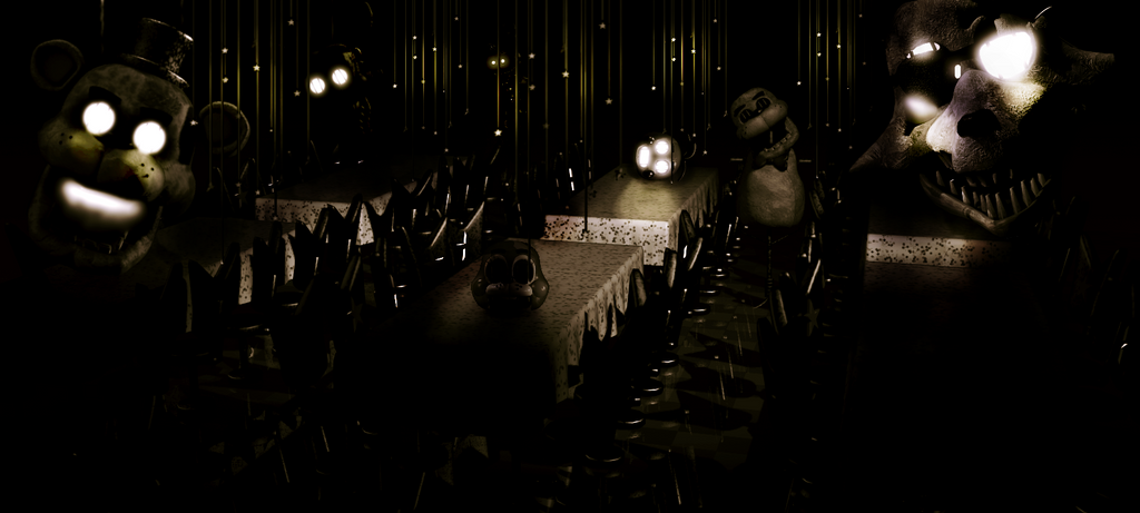 Fazbear s fright in fnaf1 spooky area fanmade by freddyfredbear on