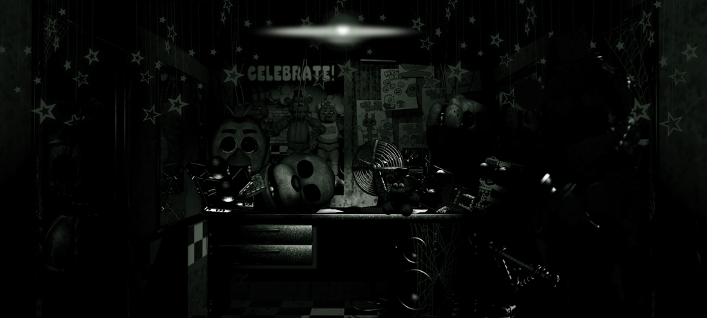Fredbear S Fright Rooms