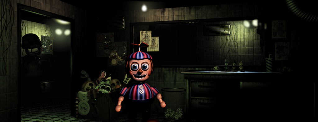 Group of Abandoned Office Fnaf Fanmade