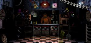 First Freddy Fazbear's Pizza office