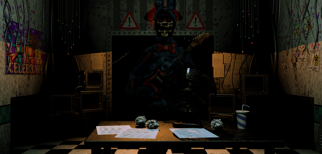 Realistic Withered Bonnie In Fnaf2 Fanmade By
