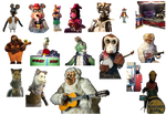 Showbiz and Chuck E. bots resources#3 (Improved)