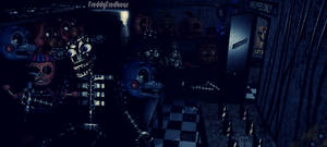 FNAF2 Storage room - old edits remake by FreddyFredbear
