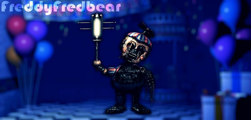 Withered BB by FreddyFredbear