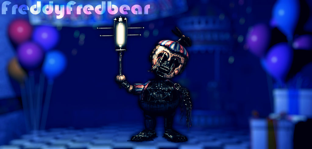 Withered BB by FreddyFredbear