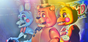 The Show Stage at day (FNAF2) by FreddyFredbear
