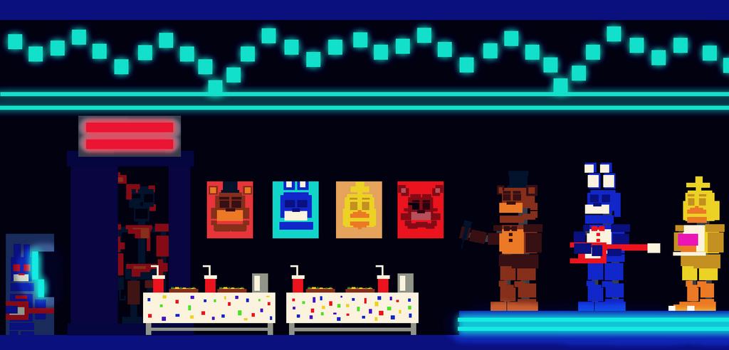 Freddy S Wonderland Dining Area Arcade By