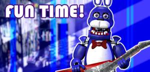 Freddy's Wonderland - Bonnie Poster