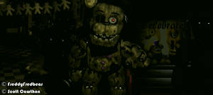Withered Fredbear by FreddyFredbear