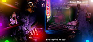 Freddy's Wonderland - Hallway of retrofits