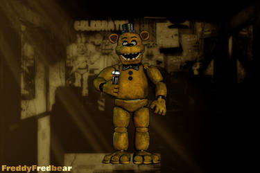Golden Freddy Gen.4 Prototype by FreddyFredbear