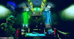 Freddy's Wonderland 3 - The Office by FreddyFredbear