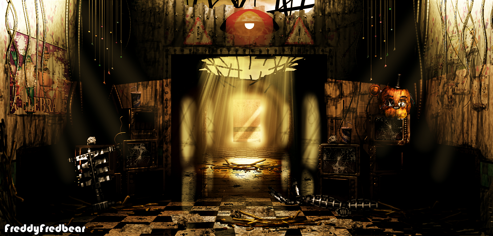 Abandoned Office - It Still Remains 2 Remake by FreddyFredbear