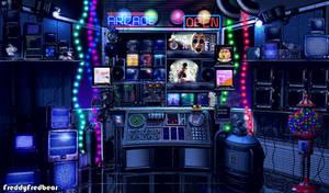 Freddy's Wonderland 3 - Control Room by FreddyFredbear