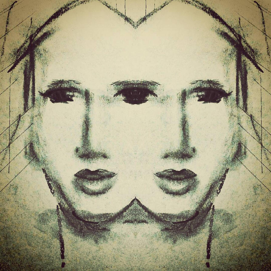 twin line by EgoMorphose