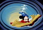 Sorcerer Mickey in Whirlpool