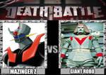 Death Battle Mazinger Z vs Giant Robo (trailer) by UrutoramanZenith