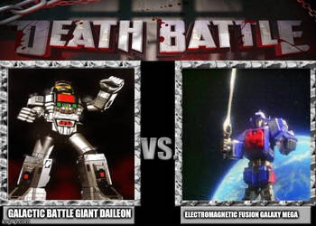 Death Battle: Space Fortress: Daileon vs Galaxy(f) by UltramanZenith