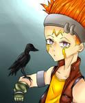 Crow Hogan (Yu-gi-oh 5DS) by MMDraws7