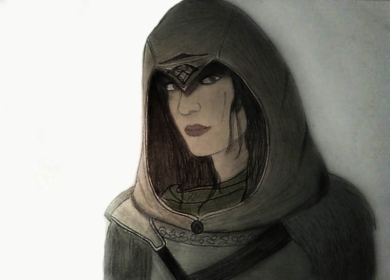 Female Assassin by Ecezio