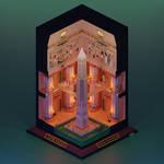 Obelisk of Khamoon Re-imagined (Tomb Raider 1996)