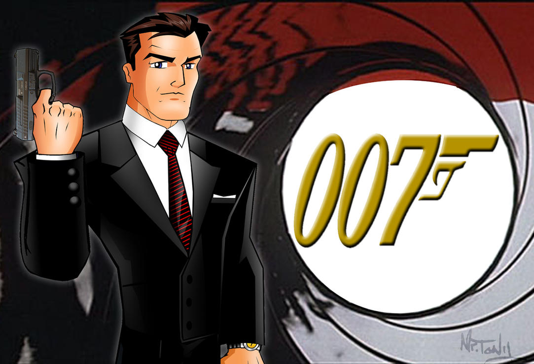 James Bond 007-Brosnan by TonyForever