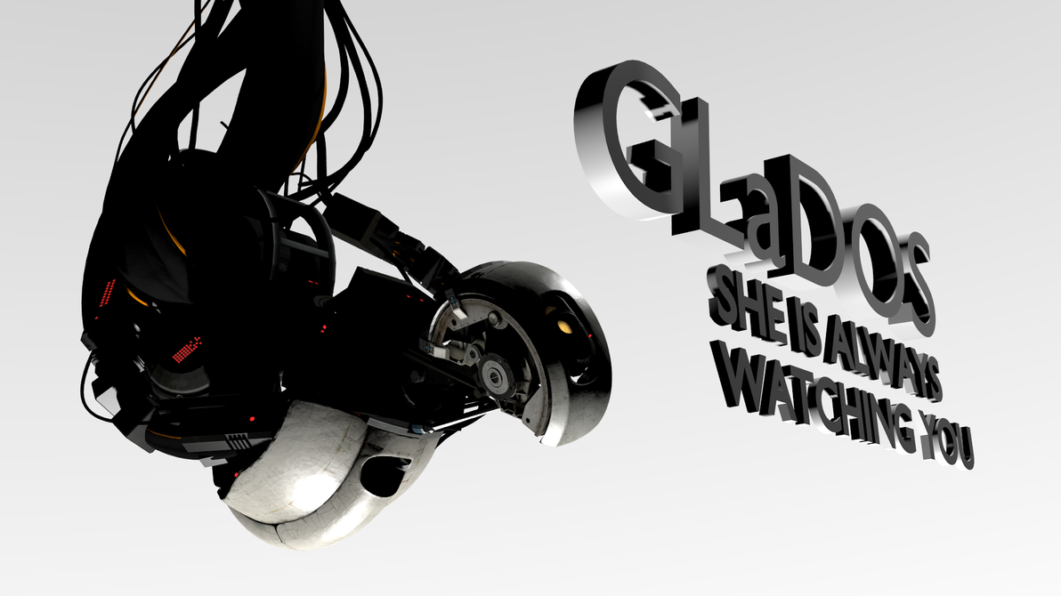 GLaDOS Wallpaper by Gonardtron2