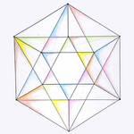 Tensegrity Icosahedron Skeleton