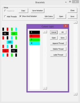 Bracelets: Color Choice UI