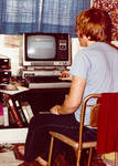 Bill and his TRS-80