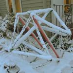 Snowy Sculpture