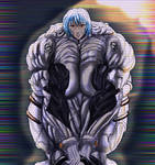 Muscle Monster Rei Ayanami