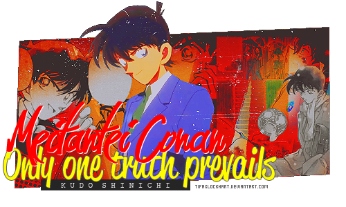 Signature - Kudo shinichi by TifaxLockhart
