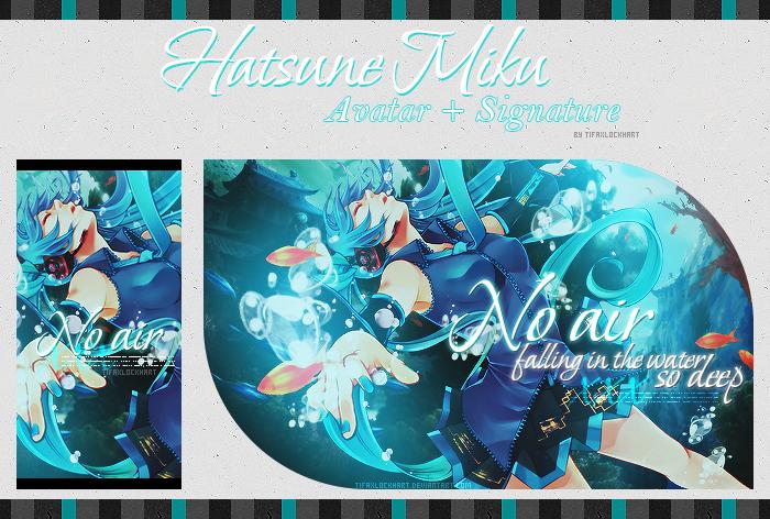 No air - Avatar + Signature by TifaxLockhart