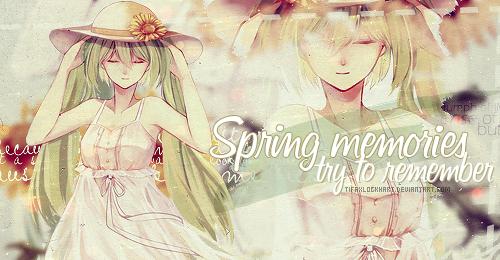 Spring memories by TifaxLockhart