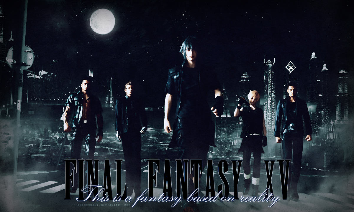 Final Fantasy XV by TifaxLockhart