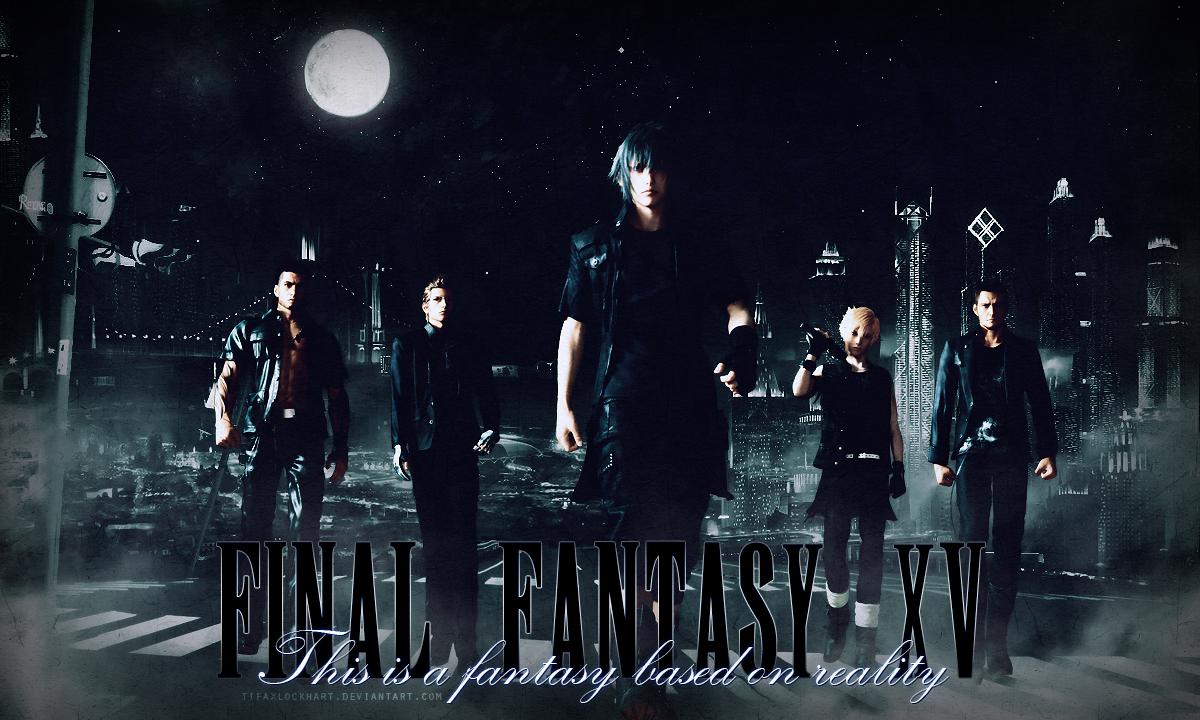 Final Fantasy XV by TifaxLockhart